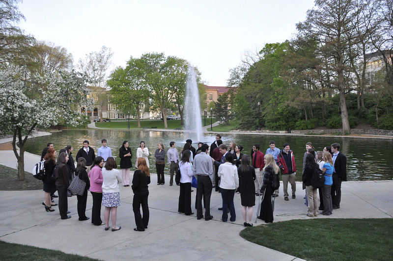 2010 Mirrors Tapping Ceremony