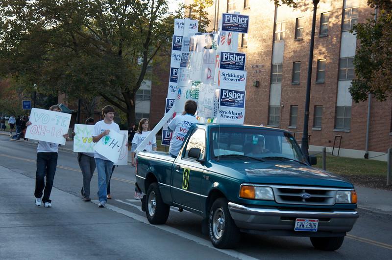 2010 Homecoming Parade & Pep Rally