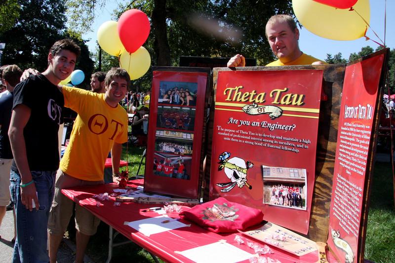 2010 Autumn Student Involvement Fair