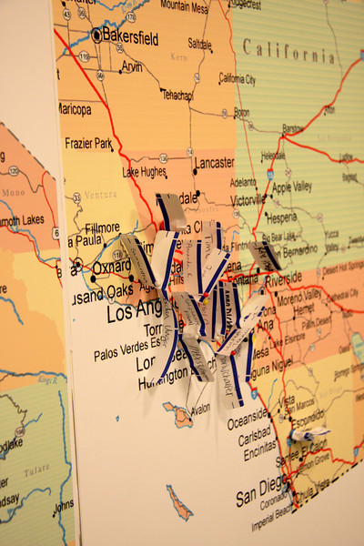 2011 State Tour: California