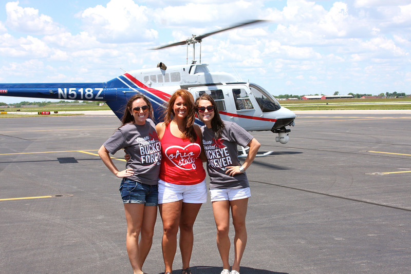 2012 Helicopter Tour of Campus