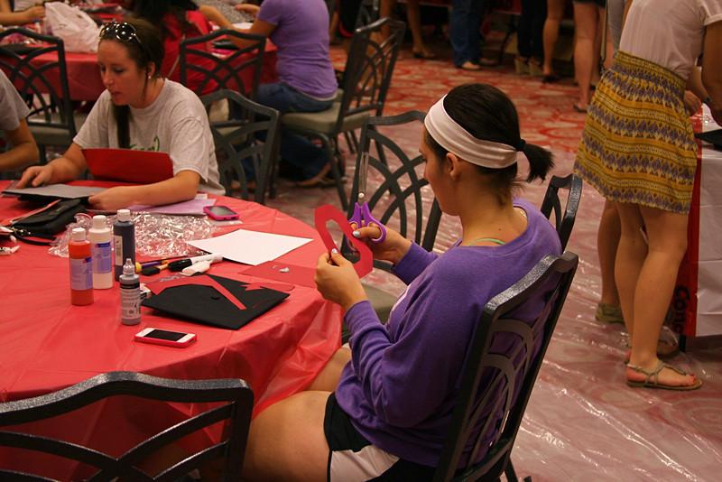 2012 OUAB Grad Cap Craft Night