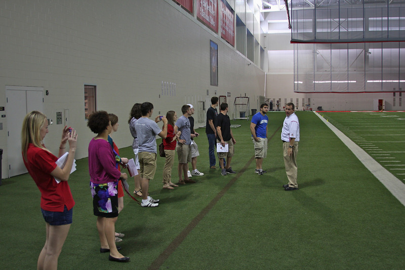 2012  Woody Hayes Athletic Center Student Tour