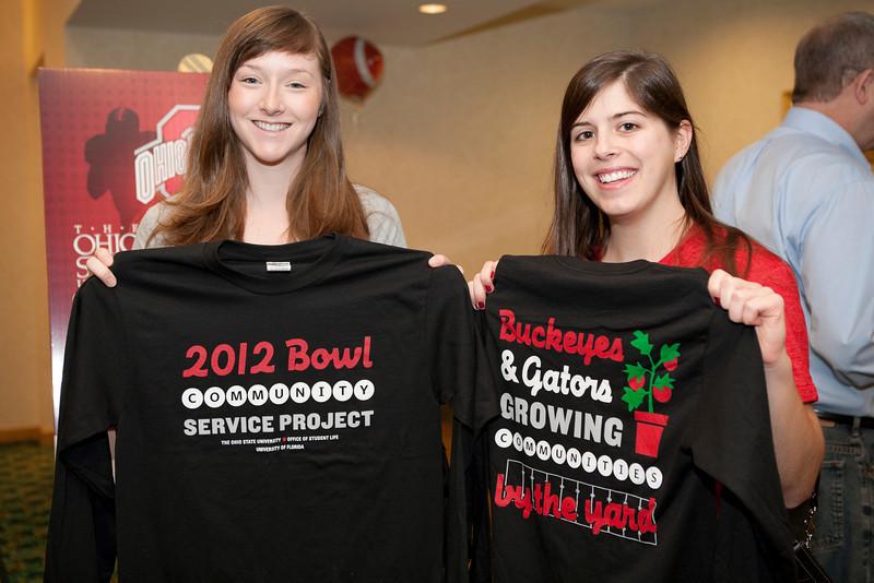 2012 Gator Bowl, Community Service Project