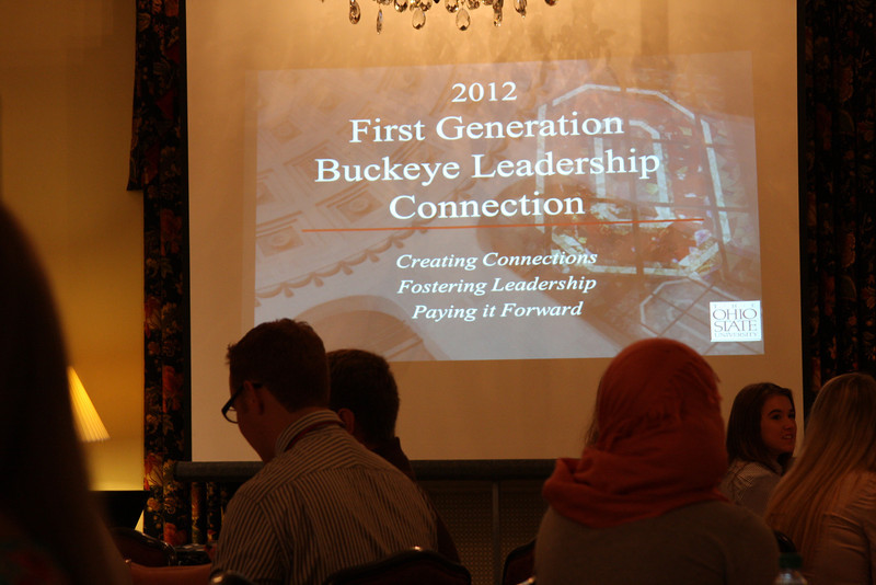 2012 First Generation Buckeye Leadership Connection