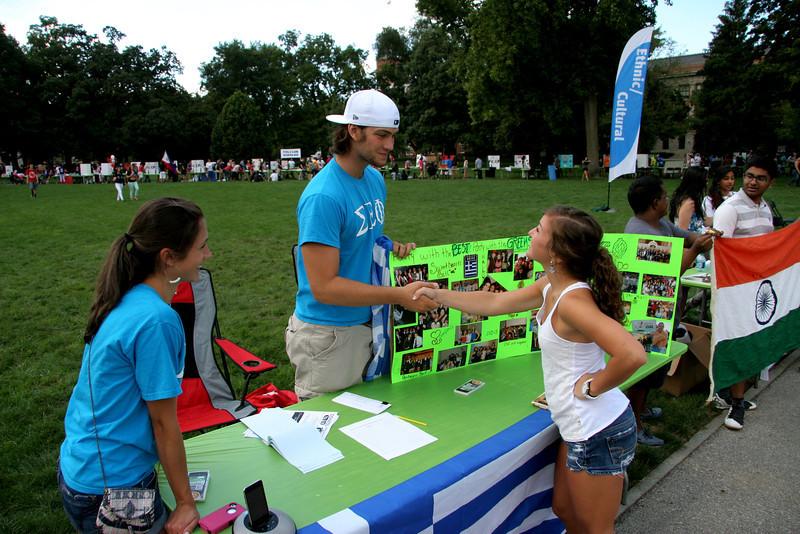 2012 Autumn Student Involvement Fair