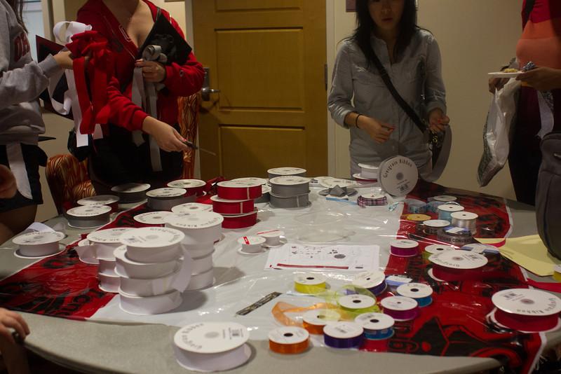 2013 Grad Cap Craft Night