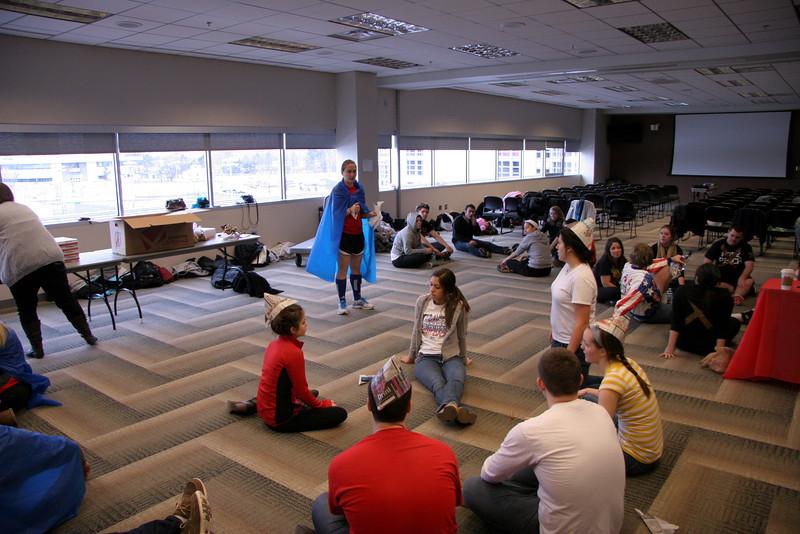 2012 SAC Winter Retreat