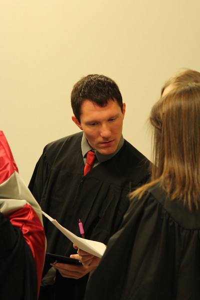 2014 HESA Hooding Ceremony