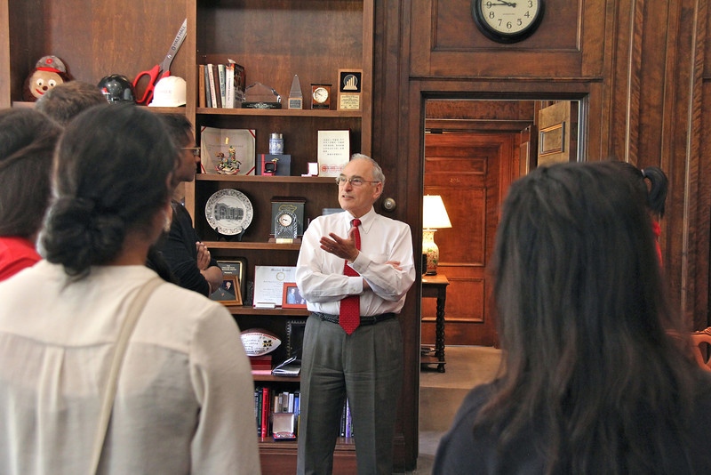 2014 President's Office Tour