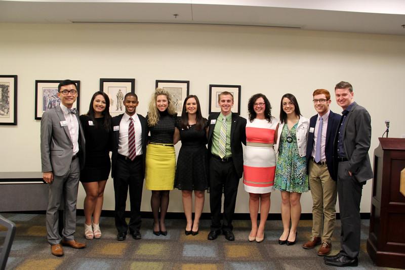 2014 Drake Student Leader Endowment Fund Awards Banquet