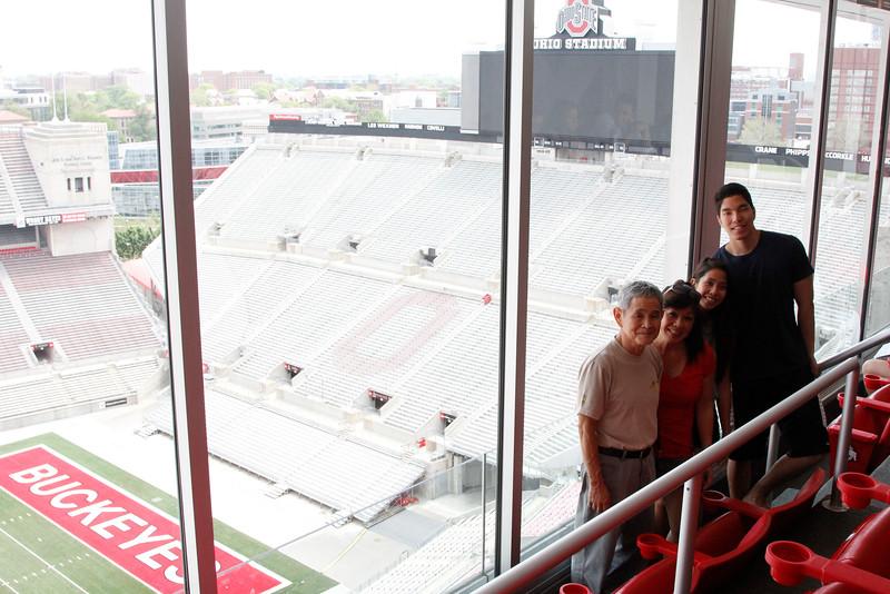 2015 Commencement Week Ohio Stadium Tours