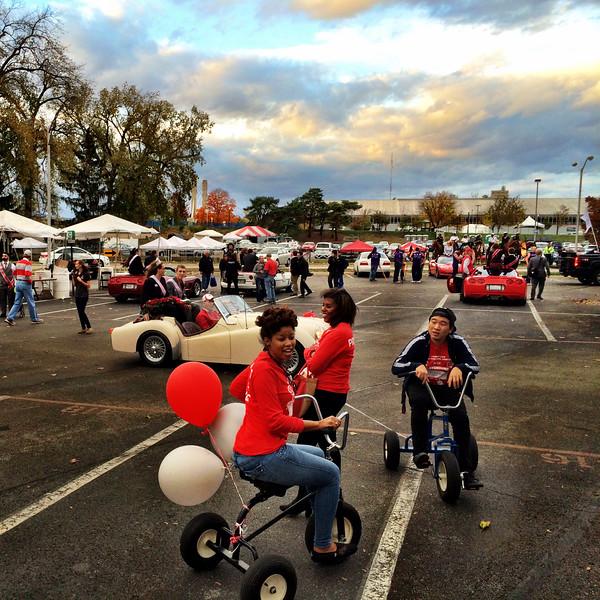 2014 MCC Homecoming Parade Float