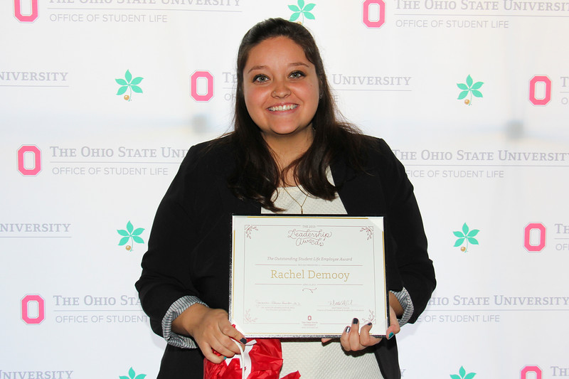 2015 Student Leadership Awards, Recognition, Ceremony, Dinner