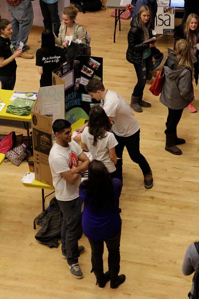 2015 Spring Student Involvement Fair