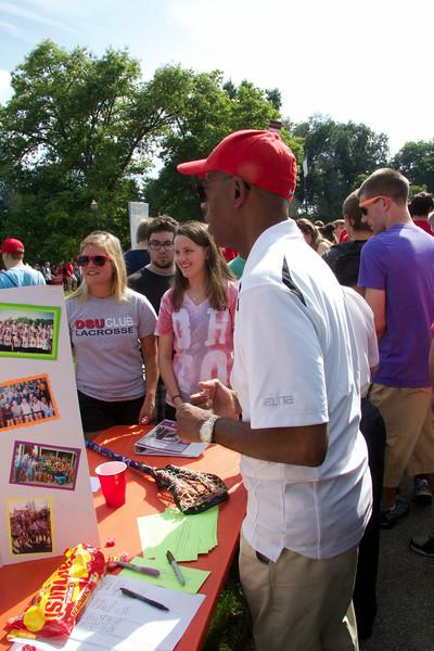 2014 Autumn Student Involvement Fair
