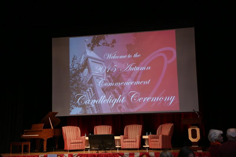 2015 Autumn Candlelighting Ceremony