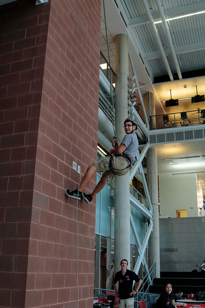 2015 Rappelling at the RPAC