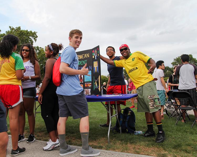 2015 Student Involvement Fair