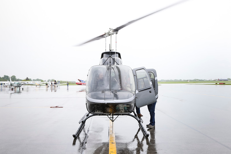 2017 Commencement Week Helicopter Tours