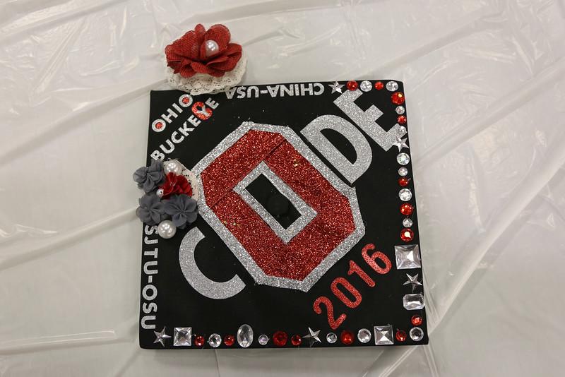 2016 Grad Cap Craft Night