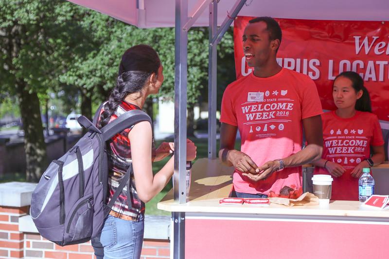 2016 Campus Locator Booths