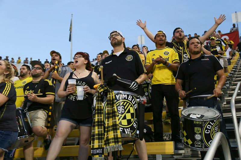2016 OSU at a Columbus Crew Game