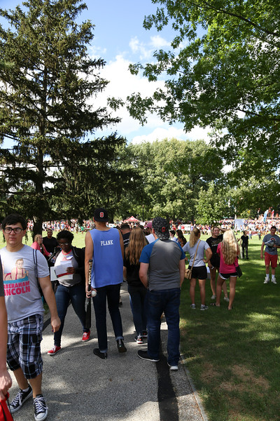 2016 Autumn Student Involvement Fair