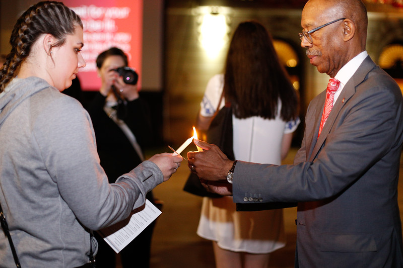 2018 Spring Commencement Candlelight Ceremony