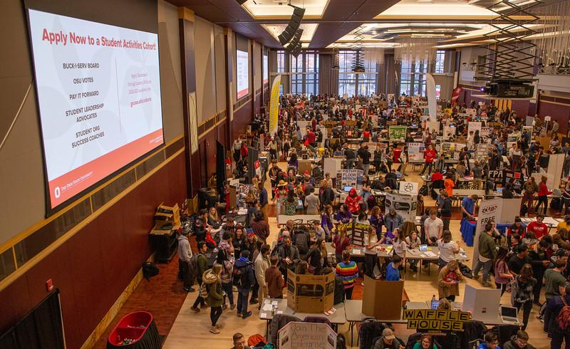 2020 Spring Student Involvement Fair