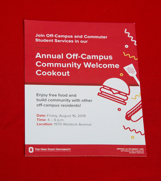 2019 Off Campus Community Welcome