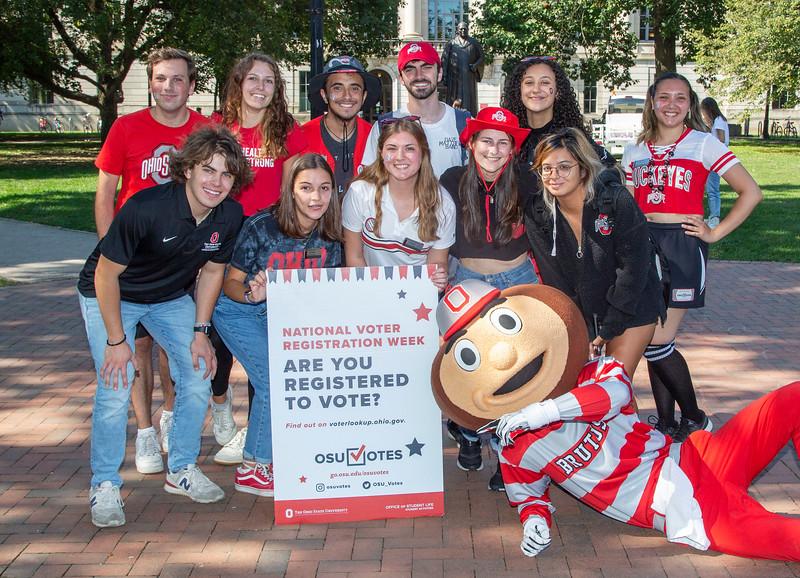 2021 OSU Votes with Brutus