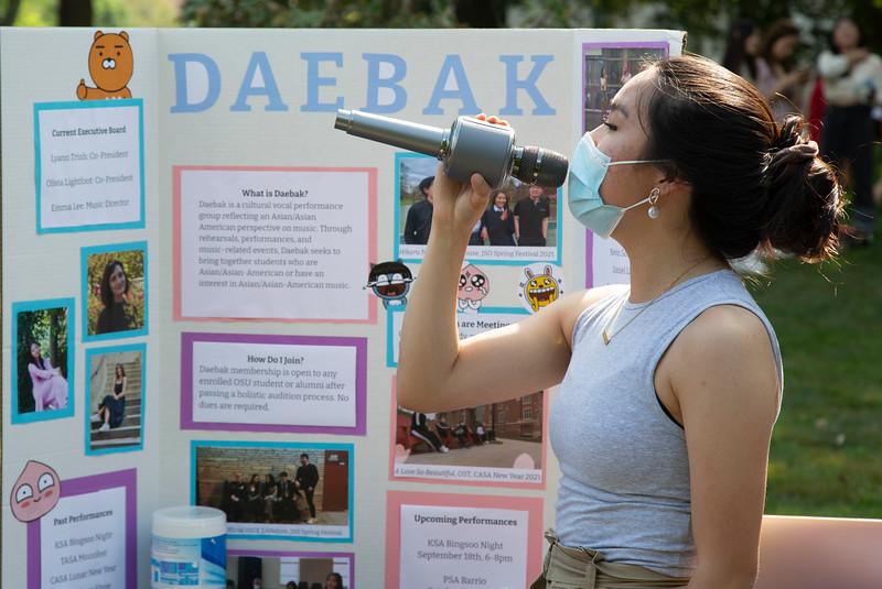2021 Student Involvement Fair
