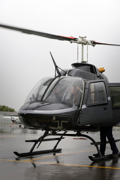 Commencement Week Helicopter