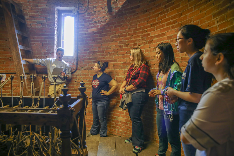 Orton Hall Bell Tours