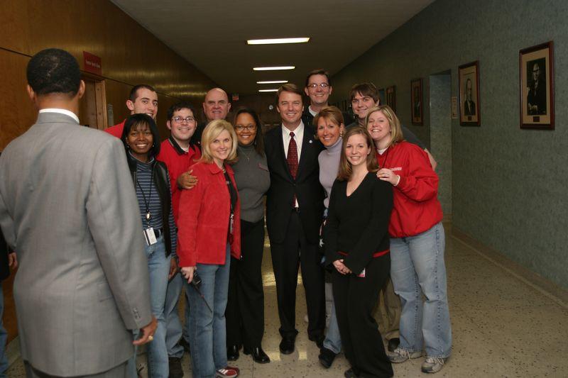 2004 John Edwards Primary Visit