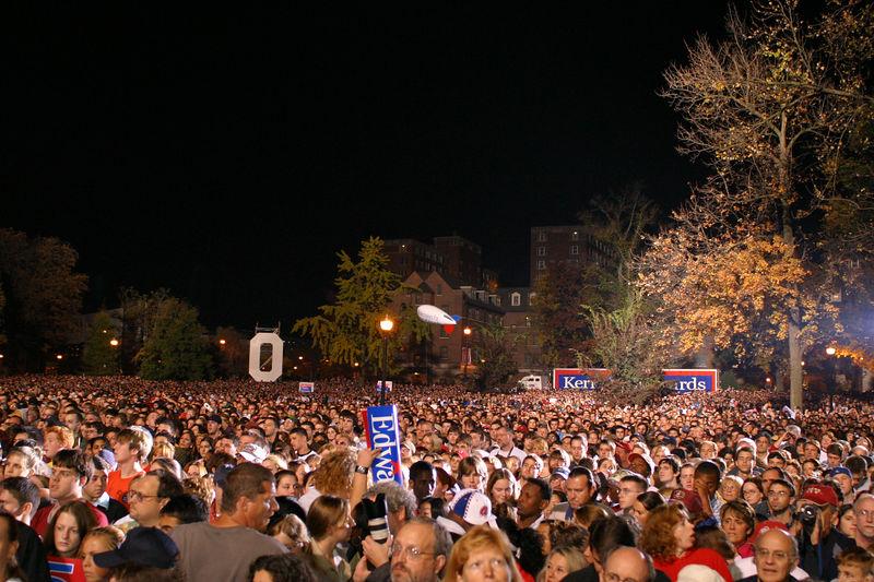 2004 John Kerry Rally