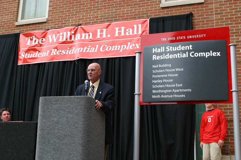 "2005 Bill Hall ""Residential Complex"" Dedication"