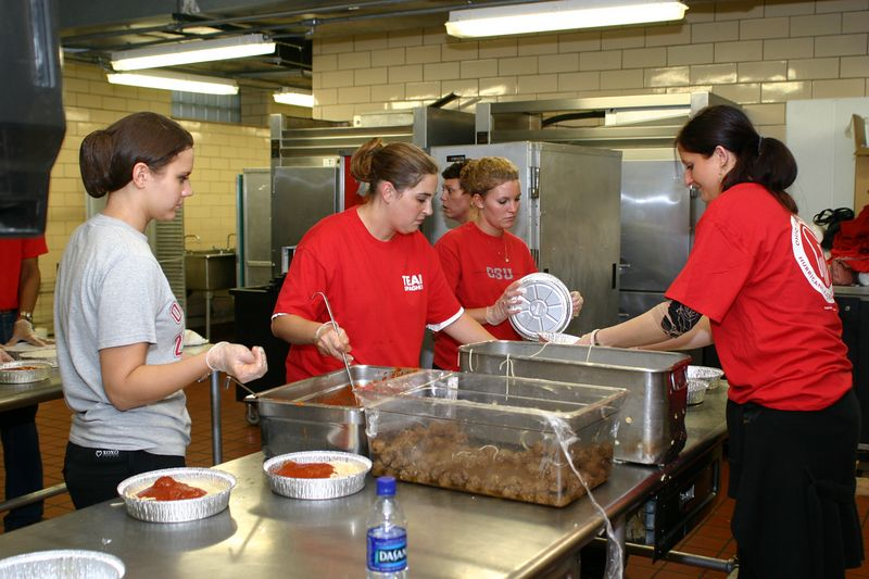 2005 Hurricane Relief Spaghetti Dinner