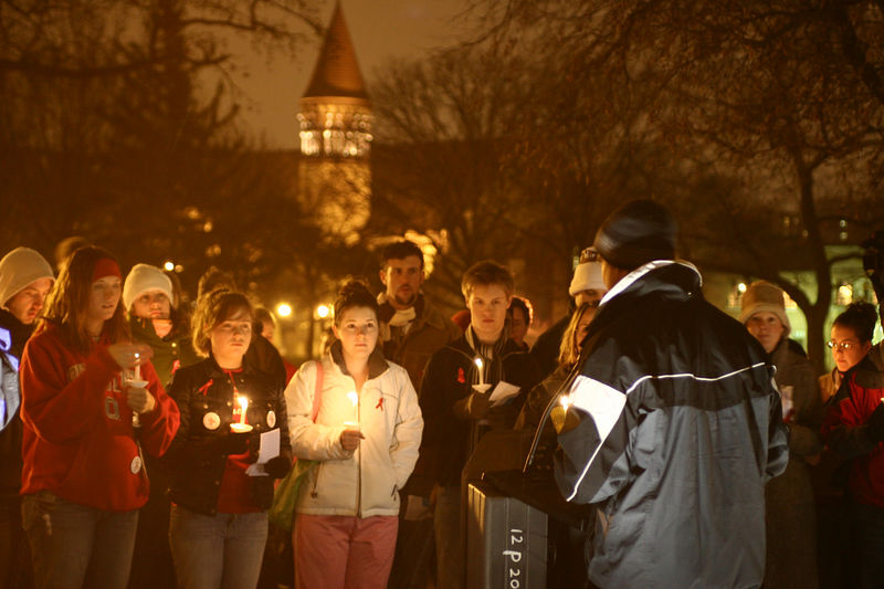 2005 World AIDS Day Vigil
