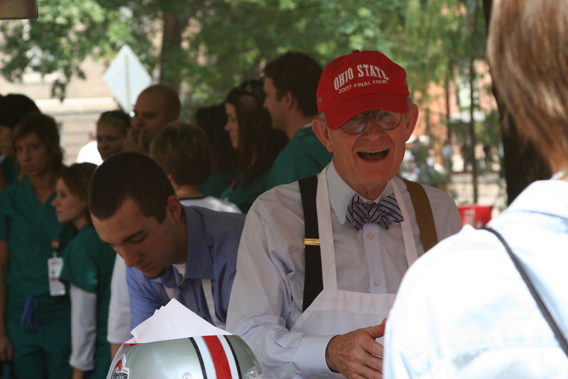 2008 Ice Cream Social with President Gee