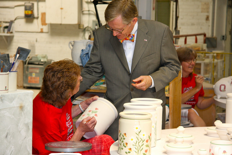 2009 Dr. Gee State Tour - Hartstone Pottery