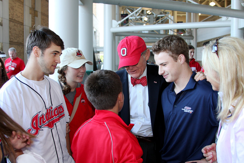 2011 OSU State Tour - Cleveland Indians