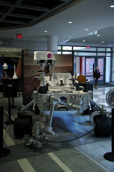 2012 Space Exhibit in Great Hall