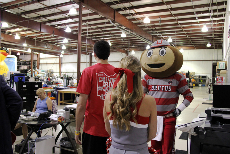 2013 OSU State Tour - Inflatable Images