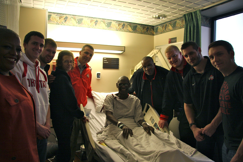 2013 Woody and Anne Hayes Celebration Week: Athletes visit the James Cancer Hospital