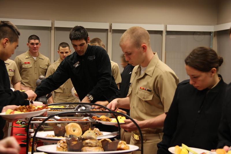 2013 Woody and Anne Hayes Celebration Week: Navy ROTC Breakfast