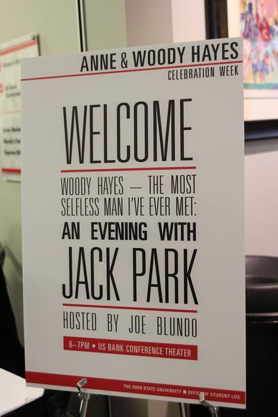 2013 Woody and Anne Hayes Celebration Week: Jack Parks and Joe Blundo