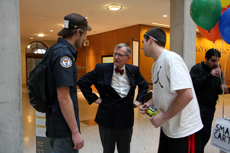 2012 Reading Day with President Gee
