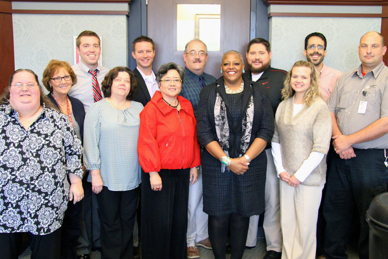 2012 Student Life Champions Cohort with Dr. J